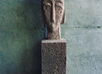 Skulptur Basalt