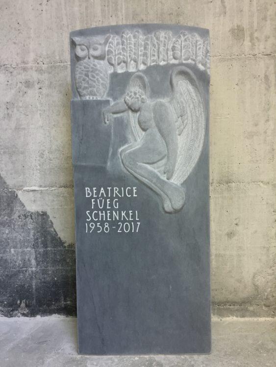 Grabstein Engel Marmor