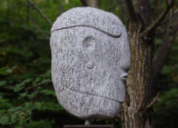 Skulptur Gneis
