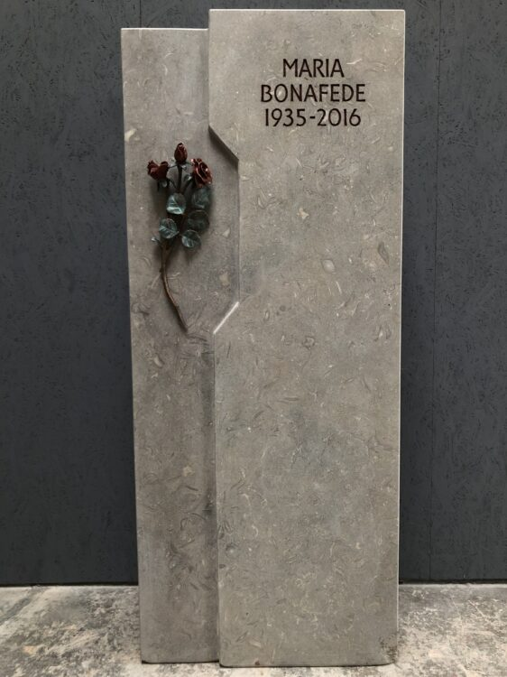 Rosen in Bronze